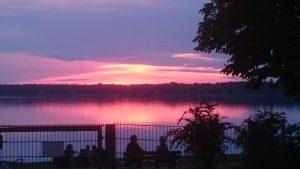 Der Wandlitzsee am Abend