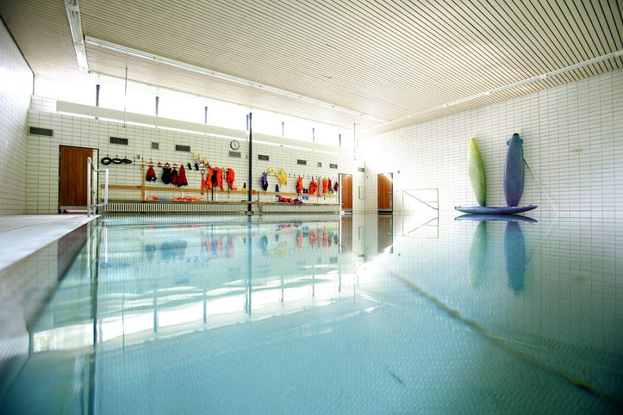 Das Therapieschwimmbecken der Schule